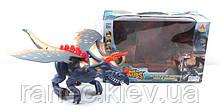 Интерактивное животное 60097 (1504945)  динозавр, звук, ходит, в коробке 36*24*15 см