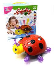 Музыкальная развивающая игрушка жучок 0816-2 (1522538)  батар.  свет  в коробке  27 5*13*29 5см