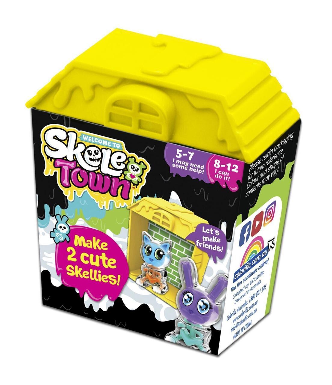 Игровой набор Skeletown Желтый. Оригинал Colorific 167440