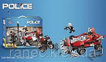 Конструктор  XB-10002  352дет., машина,мотоцикл, в коробке 36*6,5*23см