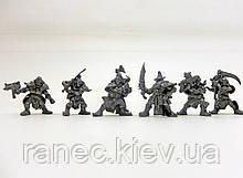 Набір Бронепехота Пірати пильної хмари з планети Тортуга без кор. (6 воїнів/ колір метал), Fantasy