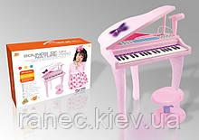 Пианино синтезатор 88022A на ножках со стульчиком