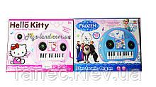 Музыкальный синтезатор детский орган 901-265/6/8/9 музыкальная игрушка детская , в короб 27*22*7 см.