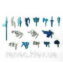 Комплект зброї для Звероботов 16 видів (колір мікс), Технолог