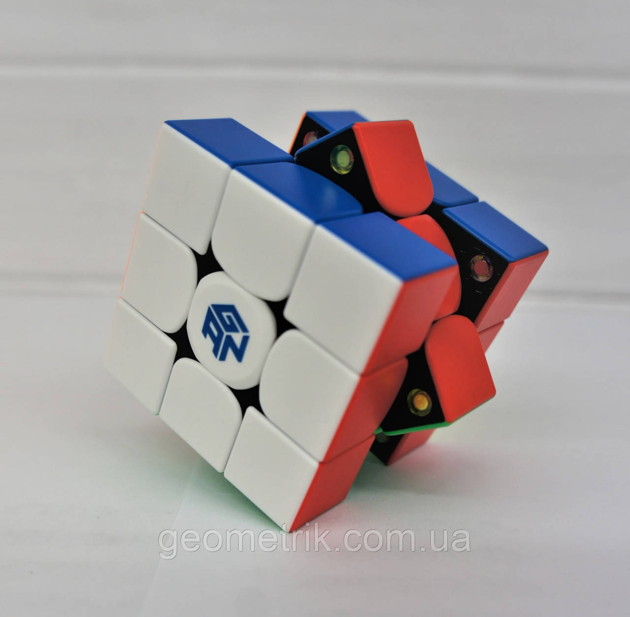 Кубик Рубика 3х3 GAN354 V2M IPG с доп. пружинами (без наклеек) арт. GAN354-1