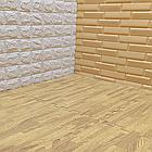 Модульное напольное покрытие пол пазл 600*600*10 Дерево янтарное, фото 3