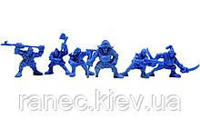 Набір воїнів Штурм-Корпус Нептун без коробки (6 воїнів/ колір синій), Fantasy
