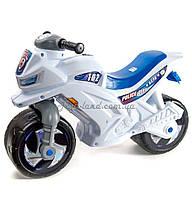 Мотоцикл для катания 2-х колісний (білий), арт. 501Бел, Орион