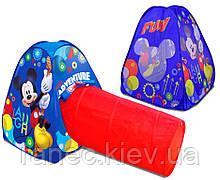 Палатка D-3304 (10шт) Mickey Mouse 45*100 см в коробке