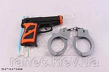Полицейский набор P014-2 (720шт/2)в пакете 25*13*3см
