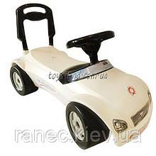 Машинка для катання МЕРСИК білий