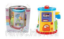 Музыкальная развивающая игрушка QX-91101E (8шт)батар,Музыкальная ,5 игровых панелей,в кор 28*30*27см