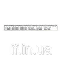 "Лінiйка  30 см, NV-72009 пластмасова ""Закрійницька"" (25/250) (NAVIGATOR) ш.к. 4820116736930"