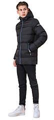 Куртка зимняя подростковая цвет черный-электрик модель 71293