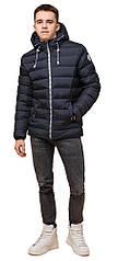 Сине-черная куртка подростковая на зиму модель 76025
