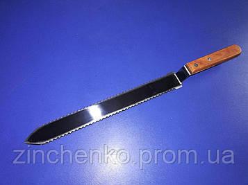 Нож для распечатки сот зубчатый 280 мм (1331476072)