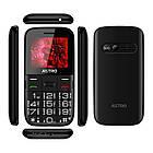 """Мобільний телефон Astro A241 Dual Sim Black; 2.4"""" (320х240) TN / клавіатурний моноблок / 64 МБ ОПЕРАТИВНОЇ пам'яті / 32 МБ, фото 3"""