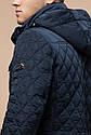 Мужская качественная светло-синяя куртка на зиму модель 1698, фото 8