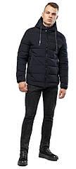 Подростковая качественная куртка черная зимняя модель 6009