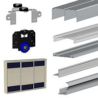 Комплект раздвижной системы для шкафа-купе Valcomp MARS для 3-х дверей L3000*H2700 (213-502)