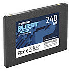 "Накопичувач SSD 240GB Patriot Burst Elite 2.5"" SATAIII TLC (PBE240GS25SSDR), фото 2"