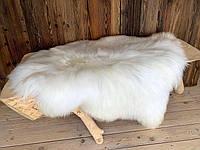 """Овечья шкура """"Исландка"""" с длинным ворсом, ковер натуральный кожаный, меховой коврик"""
