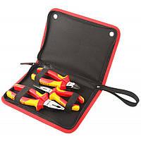 Набор инструментов Tolsen плоскогубцев диелектрических VDE 3 шт Premium (V83103)