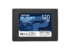 "Накопитель SSD 120GB Patriot Burst Elite 2.5"" SATAIII TLC (PBE120GS25SSDR)"
