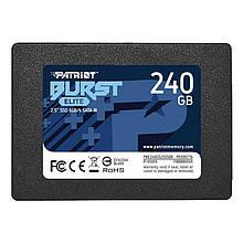 "Накопитель SSD 240GB Patriot Burst Elite 2.5"" SATAIII TLC (PBE240GS25SSDR)"