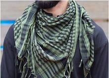 Шейный платок арафатка шемаг куфия в расцветке олива хаки