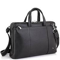 Вместительная деловая классическая сумка черная Royal Bag RB50111, фото 1