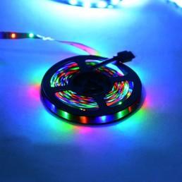 """Стрічка світлодіодна """"REN / RGB"""" вологозахищена в силіконі"""
