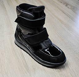 Ботинки зимние черного цвета, minimen