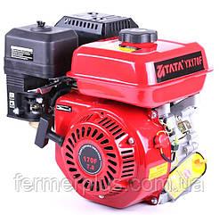 Двигатель бензиновый ТАТА 170F (7 л.с., вал под шпонку Ø20 mm, L=52mm, 1/2 редуктор)