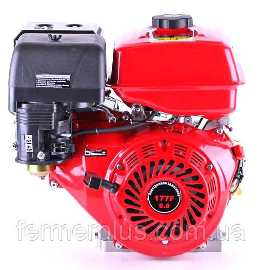 Двигатель бензиновый ТАТА YX177F (9,0 л.с., вал под шпонку Ø25 mm, L=60mm)