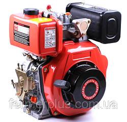 Двигатель дизельный ТАТА178F (6,0 л.с., вал под шлицы Ø25 mm, L=36.5mm)