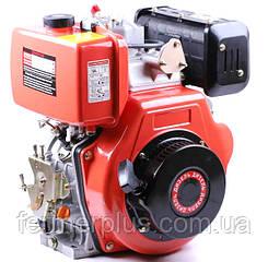 Двигатель дизельный ТАТА 186FЕ (9,0 л.с., вал под шлицы Ø25 mm, L=36.5mm)