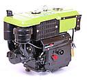 Дизельный двигатель TATA SH190NL (10,0 л.с., дизель, ручной стартер), фото 4
