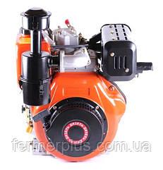 Двигатель дизельный ТАТА186F (9,0 л.с., вал под шпонку Ø25 mm, L=72mm)