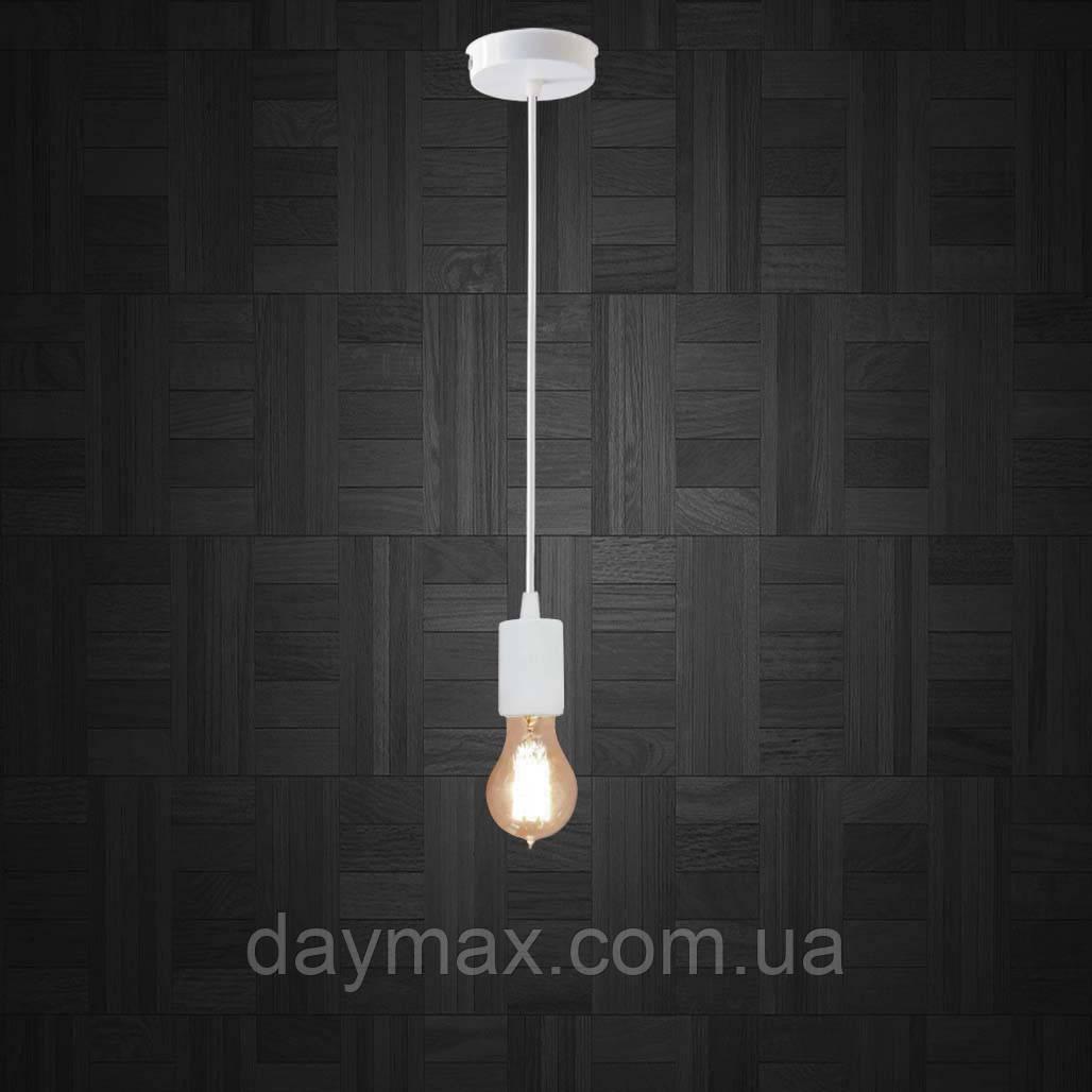 Подвесной светильник CEILING E27 белый на 1-лампу