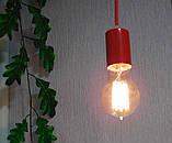 Подвесной светильник на 4-лампы CEILING-4 E27 красный, фото 6