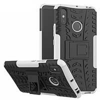 Чехол Armor Case для Xiaomi Mi Max 3 White