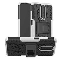 Чехол Armor Case для Xiaomi Redmi K30 / Poco X2 White