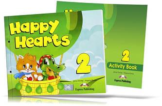 Happy Hearts 2, Pupil's book + Activity Book / Підручник + Зошит англійської мови