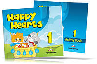 Happy Hearts 1, Pupil's book + Activity Book / Учебник + Тетрадь английского языка