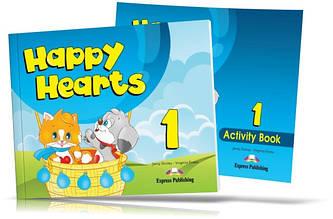 Happy Hearts 1, Pupil's book + Activity Book / Підручник + Зошит англійської мови