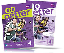 Go Getter 4, Student's Book + Workbook / Учебник + Тетрадь английского языка