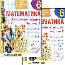 6 клас | Математика. Робочий зошит | Мерзляк