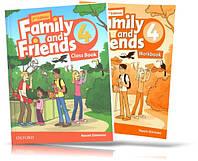 Family and Friends 2th edition 4, Class book + Workbook | учебник + тетрадь (комплект) английского языка