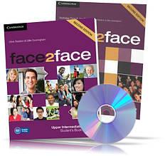 Face2face Upper-Intermediate, student's + DVD + Workbook / Підручник + Зошит (комплект) англійської мови